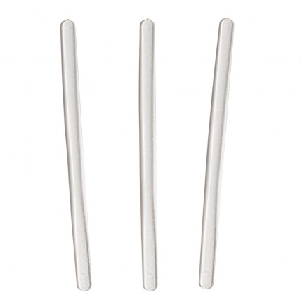 Clear Plastic PS Frosted Plastic Stirrer 140mm