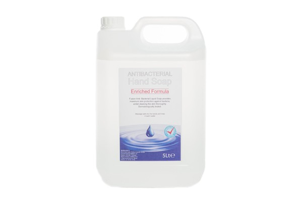 Clear anti bacterial Liquid Soap 5 Litre