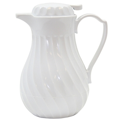 Connoisserve Swirl Decanter with thumb press