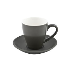 Cono Cappuccino Cup 200ml Slate (Pack of 6)