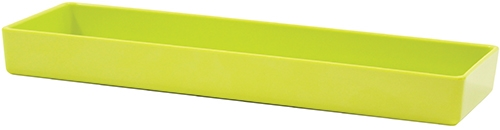 Contemporary Melamine Staight Sided Bowl Lime Green  (38x12.5x4cm) 1.5L