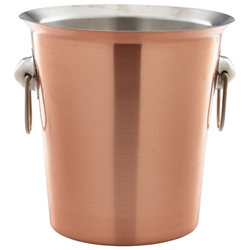 Copper Wine Bucket With Ring Handles (Each) Copper, Wine, Bucket, With, Ring, Handles, Nevilles