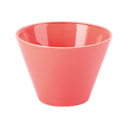 "Coral Conic Bowl 9cm/3.5"" 20cl/7oz (Pack of 6)"