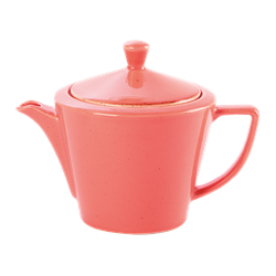 Coral Conic Tea Pot 50cl/18oz (Pack of 6)