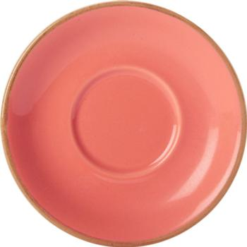 "Coral Saucer 16cm/6.25"" (Pack of 6)"