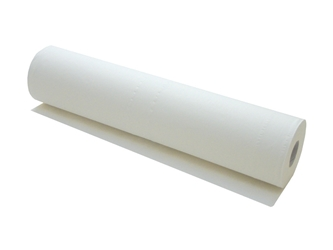Couch Roll 2 ply White 50cm x 40m 100 sheets per roll