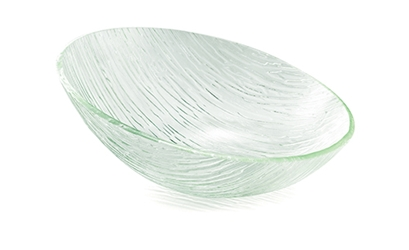 Cristal Collection(TM) Oval Bowl, Acrylic, 17 x 7""