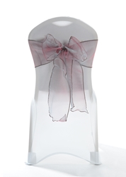 "Crystal Chair Sashes - Sand Chocolate 8""x108"" (5 Pack)"