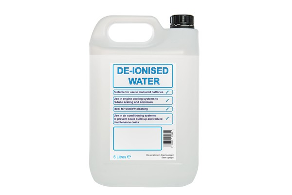 DE-ionized Water 5 Ltr