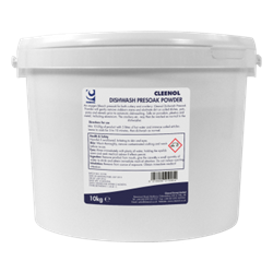 DISHWASH PRESOAK POWDER 10K Dishwash, Presoak, Powder, Cleenol