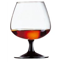Degustation Brandy / Cognac Black Stem 14.5oz  (8 Pack) Degustation, Brandy, Cognac, Black, Stem, 14.5oz,
