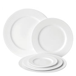 "Edge Winged Plate 6.25"" / 17cm (6 Pack)"