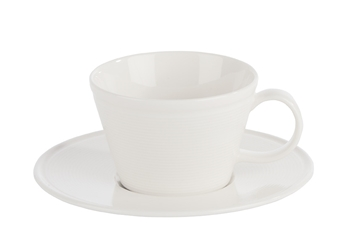 Embossed Espresso Saucer 12cm (Pack of 6)