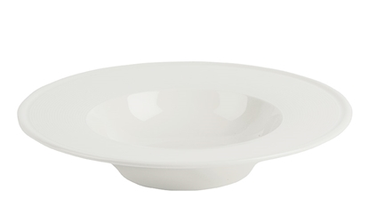 Embossed Pasta Plate 25cm (Pack of 6)