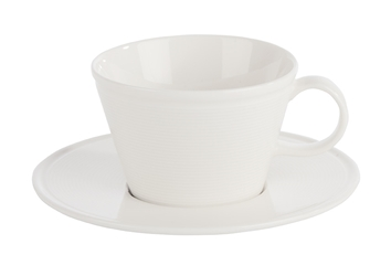Embossed Saucer 16cm (Pack of 6)