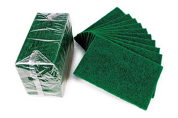 Extra Heavy Duty Green Scouring Pads 10 Pack