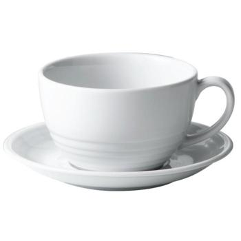 "Focus Large Saucer 17cm/6.5"" (Pack of 6)"