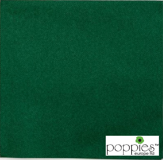 Forest Green 2 Ply 40cm Napkins (2000 Pack)