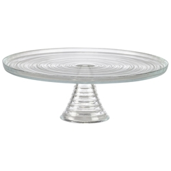 Glass Cake Stand (Each) Glass, Cake, Stand, Nevilles