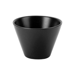 "Graphite Conic Bowl 9cm/3.5"" 20cl/7oz (Pack of 6)"
