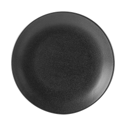 "Graphite Coupe Plate 18cm/7"" (Pack of 6)"