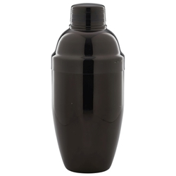 Gun Metal Cocktail Shaker 50cl/17.5oz (Each) Gun, Metal, Cocktail, Shaker, 50cl/17.5oz, Nevilles
