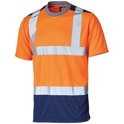 Dickies High-Visibility two-tone t-shirt High-visibility two-tone t-shirt (SA22081)