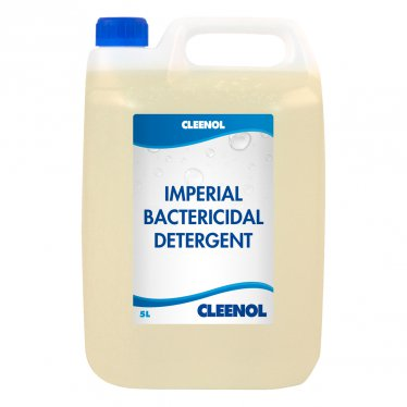 IMPERIAL BACTERICIDAL DETERGENT 5L Imperial, Bactericidal, Detergent, Cleenol
