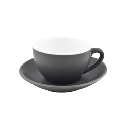 Intorno Coffee/Tea Cup 200ml Slate (Pack of 6)