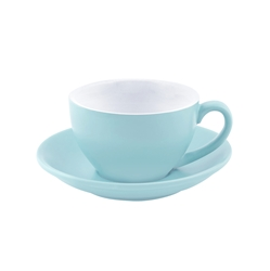 Intorno Large Cappuccino Cup 28cl Mist (Pack of 6)