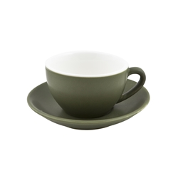 Intorno Large Cappuccino Cup 28cl Sage (Pack of 6)