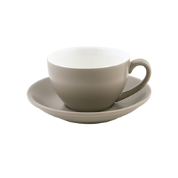 Intorno Large Cappuccino Cup 28cl Stone (Pack of 6)