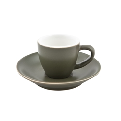 Intorno Saucer for Espresso Cup Sage (Pack of 6)