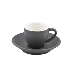 Intorno Saucer for Espresso Cup Slate (Pack of 6)