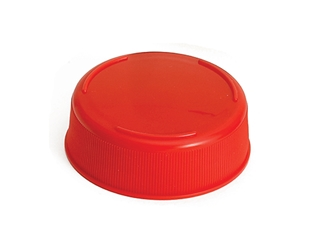 12 & 16 oz Inveratop(TM) 53 mm End Cap, Red