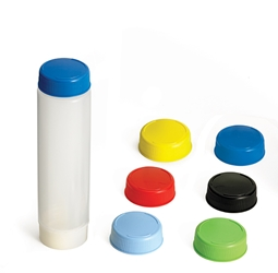 24 oz InvertaTop(TM) 63 mm End Cap, Assorted Colors