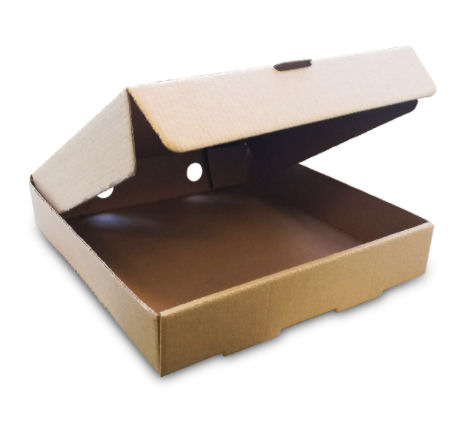 "Kraft Pizza Box 7"" (100 Pack) Kraft, Pizza, Box, 7"""