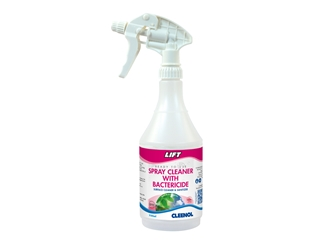 Labelled empty refill flasks for Lift Spray Cleaner With Bacteriocide Pack of 6 Labelled, Empty, Refill, Flasks, For, Lift, Spray, Cleaner, With, Bacteriocide, Cleenol