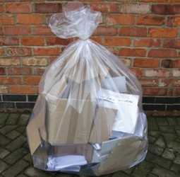 Large Heavy duty Clear Sacks 808mm X 974mm (100 Pack)