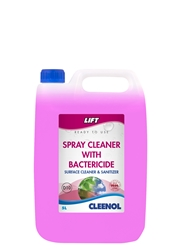 Lift Spray Cleaner With Bacteriocide 5L Lift, Spray, Cleaner, With, Bacteriocide, Cleenol