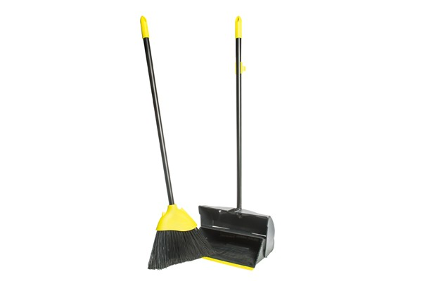 Long Handled Dustpan & Brush Set