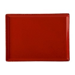 "Magma Rectangular Platter 27x20cm/10.75x8.25"" (Pack of 6)"