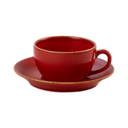 "Magma Saucer 16cm/6.25"" (Pack of 6)"