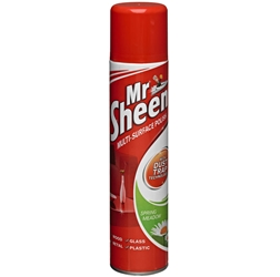 Mr Sheen Industrial Polish 400ML (6 Pack) Mr, Sheen, Industrial, Polish, 400ML, Bunzl