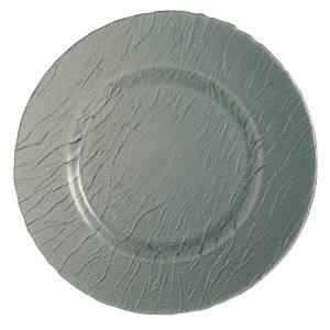 "Minerali Colour Grey Presentation Plate 12.6"" 32cm (12 Pack) Minerali, Colour, Grey, Presentation, Plate, 12.6"", 32cm"