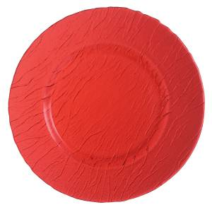 "Minerali Colour Red Presentation Plate 12.6"" 32cm (12 Pack) Minerali, Colour, Red, Presentation, Plate, 12.6"", 32cm"