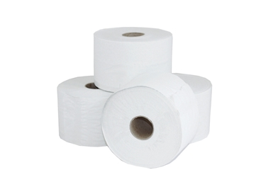 Mini Jumbo Toilet Rolls 90mm x 150 Meter - 2 1/4 / 57mm Core