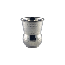 Moroccan Stainless Steel Hammered Tumbler 40cl/14oz (Each) Moroccan, Stainless, Steel, Hammered, Tumbler, 40cl/14oz, Nevilles