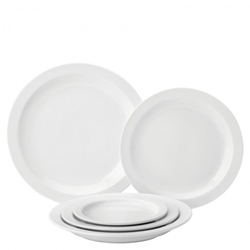 "Narrow Rim Plate 9"" / 23cm (24 Pack)"