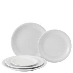 "Narrow Rimmed Plate 11"" / 28cm  (6 Pack)"
